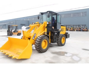 W120 Mini Wheel Loader
